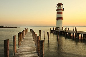 Lighthouse in Podersdorf